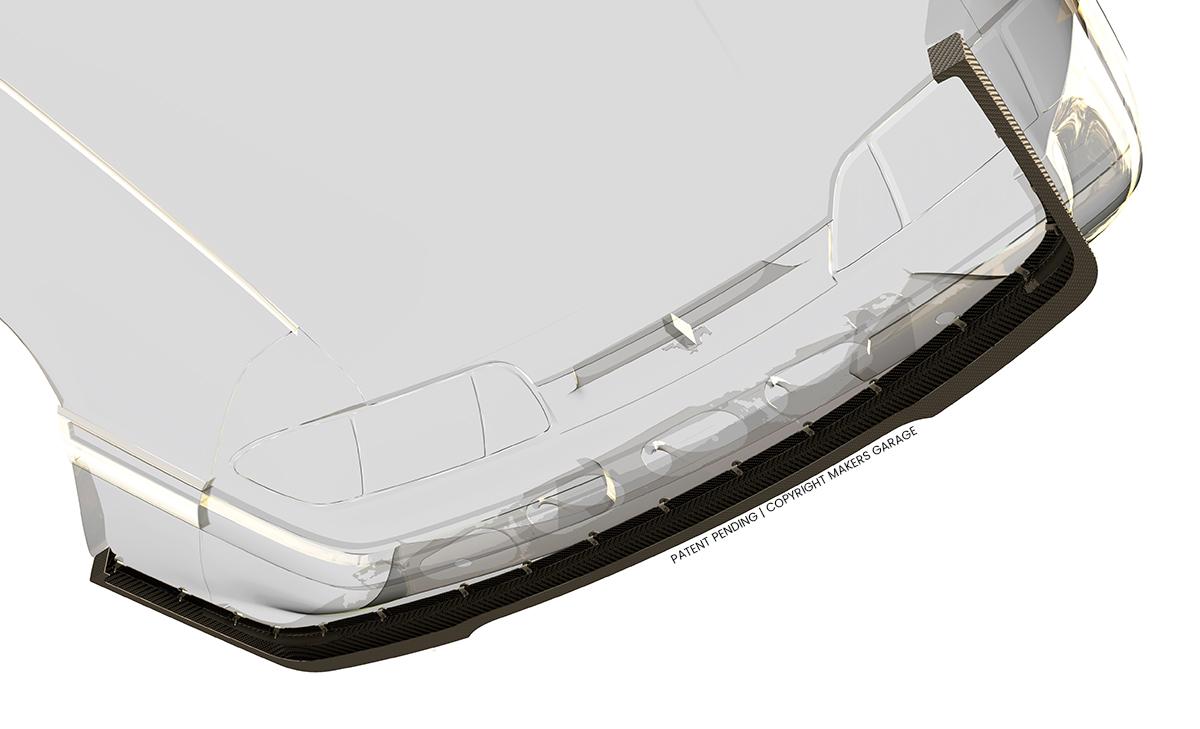 LX Splitter - Carbon Fiber - Makers Garage